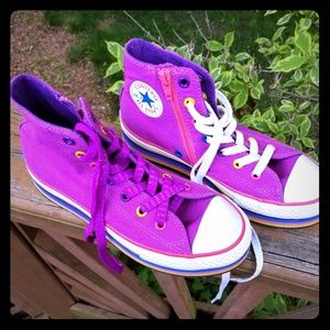 Converse Chuck Taylor All Star Platforms ( Junior)